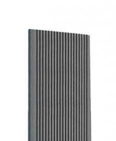 Террасная доска дпк TERRADECK VELVET (Россия) цвет серый-gray, 3-6 метров