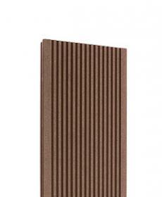 Террасная доска дпк TERRADECK VELVET (Россия) цвет light-brown, 3-6 метров